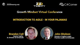 Introduction to Agile - in Your Pajamas : Growth Mindset Virtual Conference