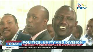NTV Today: Caution as 2022 succession debate threatens to tear Jubilee party