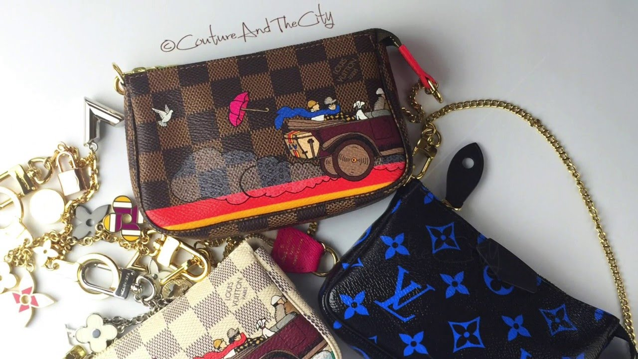b53029819384 Louis Vuitton Mini Pochette Review   What Fits In My Bag - YouTube