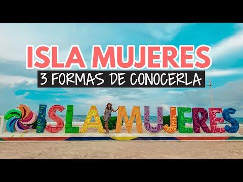 Isla Mujeres ➡️ 3 formas de viajar desde Cancún