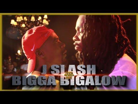 J SLASH VS BIGGA BIGALOW RAP BATTLE - RBE