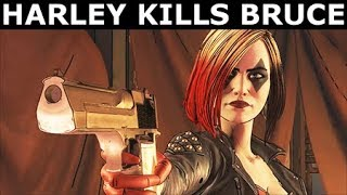 Harley Quinn Kills Bruce Wayne - BATMAN Season 2 The Enemy Within Episode 2: The Pact