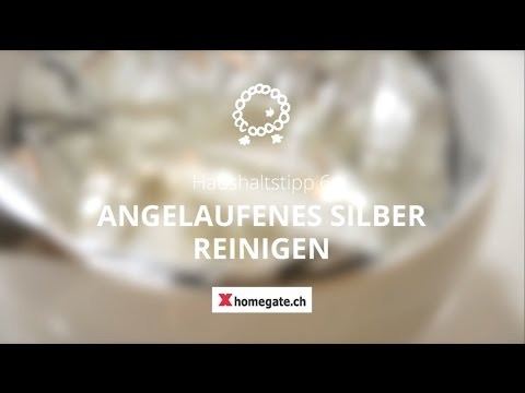 haushaltstipp 6 angelaufenes silber reinigen youtube. Black Bedroom Furniture Sets. Home Design Ideas