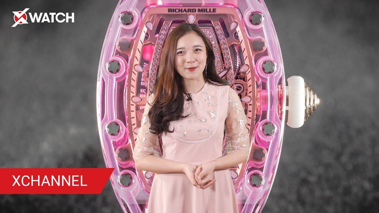 Richard Mille RM 07 02 Sapphire 28 TỶ ĐỒNG đã về tay quý cô Việt