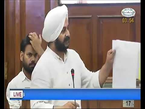 AAP MLA Jarnail Singh on working of Municipal Corporations of Delhi and utilization of funds