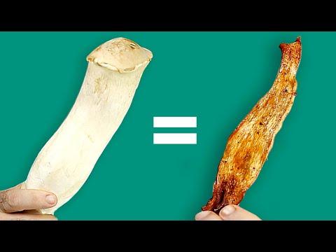Giant Mushroom that Tastes like Bacon?