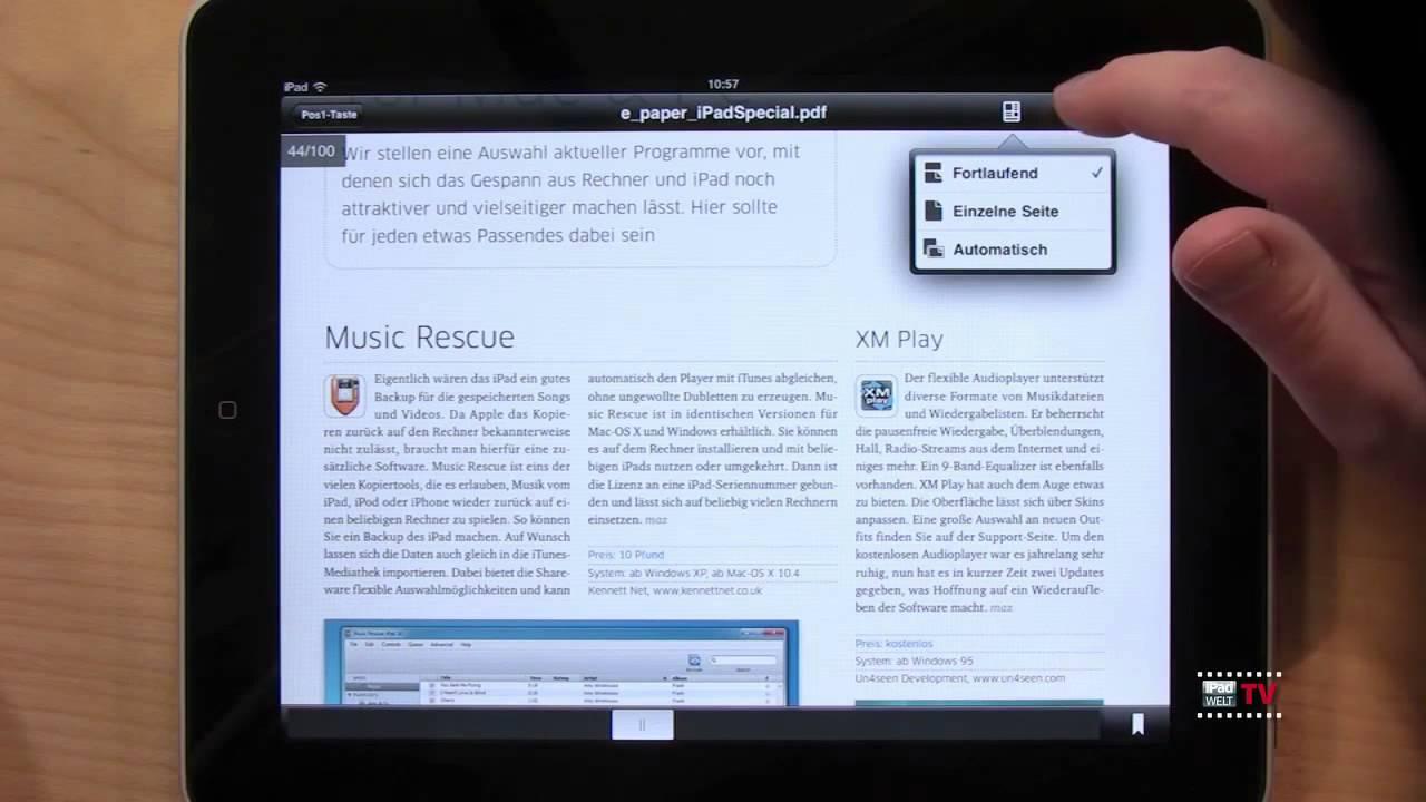 Adobe Reader Ipad