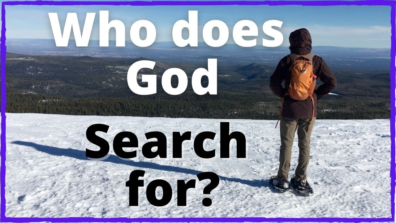 Who is God searching for? | Seeking God at Tumalo Mountain