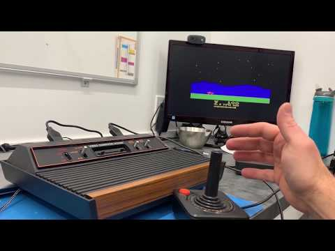 Atari 2600 VCS Pi mod (Raspberry Pi, Retro Pie and Arduino)