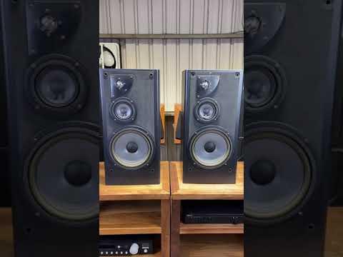 【夢響音響工作室】美國製 JBL LX600 三音路大型書架喇叭 一元起標!!