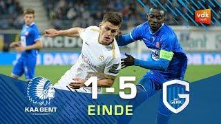 🎬KAA Gent - KRC Genk: 1-5