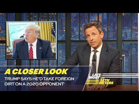 Seth Meyers Is Now 'The News'