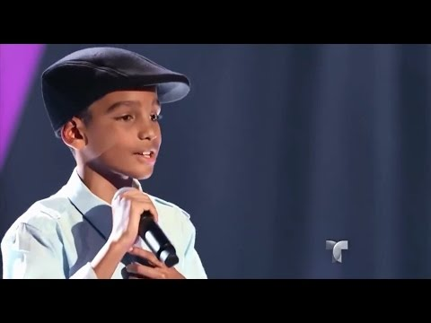 "Ezequiel canta ""Stand by me"" en ""La Voz Kids"""