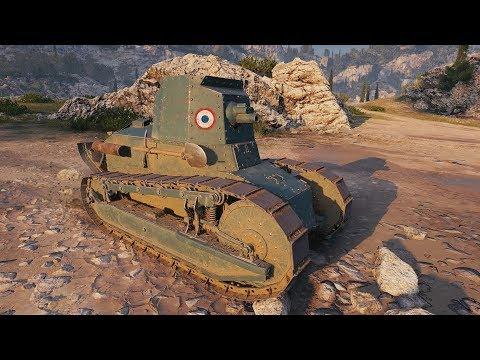 World Of Tanks Renault FT 75 BS