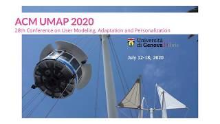 UMAP 2020 Keynote: Cristina Conati