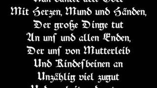 "J.S. Bach ""Nun danket alle Gott"" BWV 79 Thomanerchor"