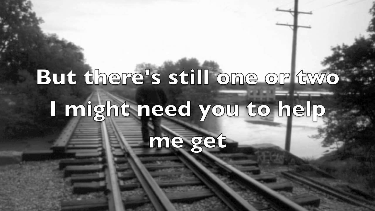 Better Than I Used To Be by Tim McGraw with lyrics - YouTube