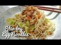 Stir-fried Beef with Egg Noodles | Food Bae