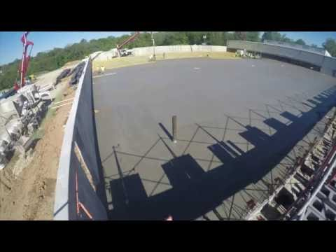 summit concrete slab pour at may tech