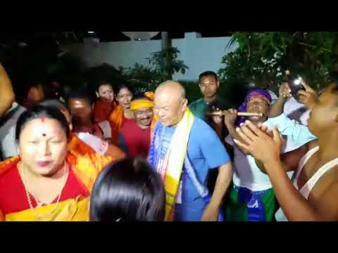 HAGRAMA SIR DANCING ON BWISAGU BODOLAND FESTIVAL!!