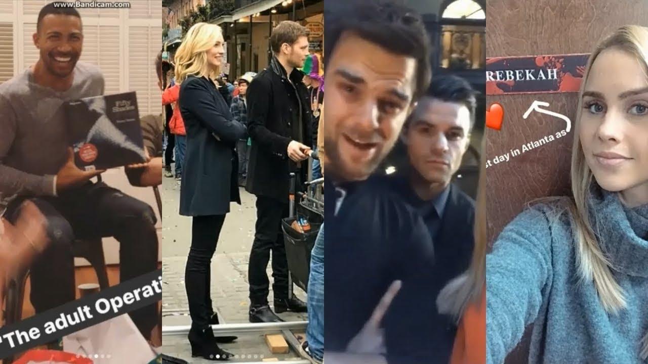 Download The Originals Cast Filming Last Season 5x13   Behind The Scenes   Joseph Morgan, Candice King