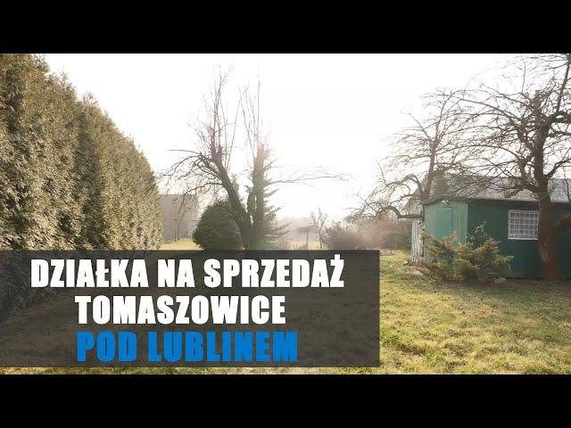 Działka budowlano - rolna Tomaszowice - Kolonia