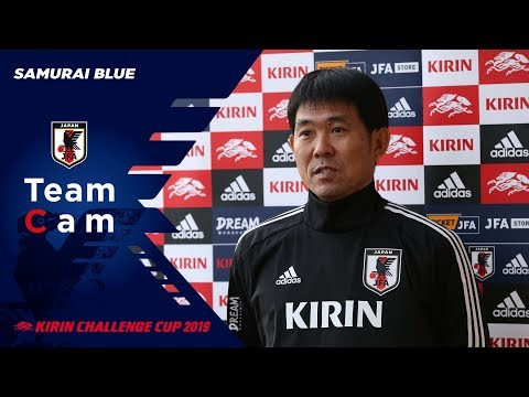 【日本代表TeamCam】3/18 森保一監督インタビュー