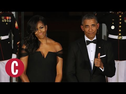 All of Michelle Obama's Gorgeous State Dinner Dresses | Cosmopolitan