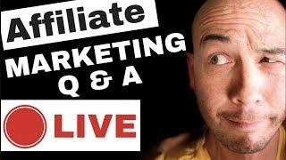 Amazon Affiliate Q&A Live Stream