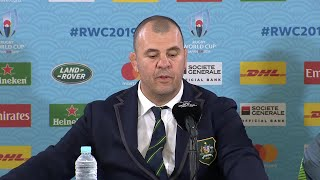 Post match press conference with Michael Cheika and Michael Hooper