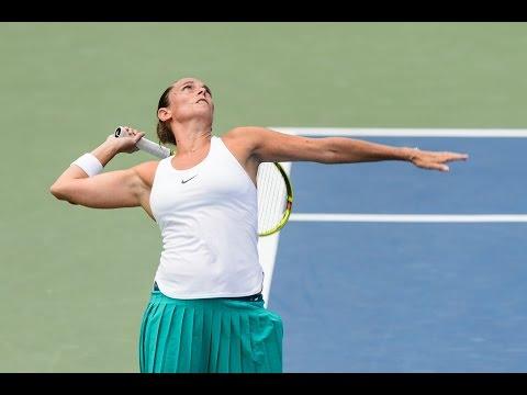 2016 Connecticut Open Second Round | Roberta Vinci vs Ana Konjuh | WTA Highlights