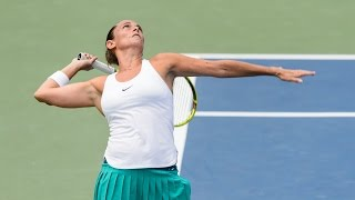 2016 Connecticut Open Second Round   Roberta Vinci vs Ana Konjuh   WTA Highlights