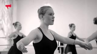Урок балета в школе искусств во Владивостоке