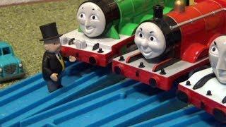 きかんしゃ トーマス 「ペンキやさん 洗車機をぬる」後編 Plarail Thomas and Friends