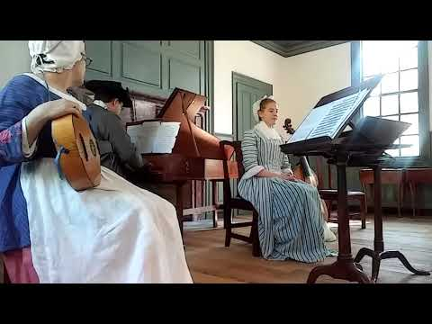 Harpsichord music at the Raleigh Tavern