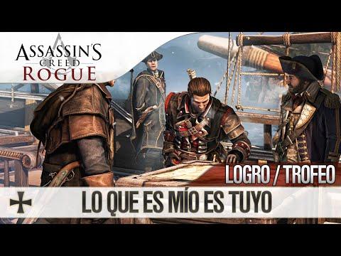 Assassin's Creed Rogue   Guía de Trofeo / Logro   Lo que es mío es tuyo   Saquear Escoltas de barco