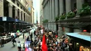Occupy Wall Street Protest Enters Second Week; 80 Arrested at Peaceful March