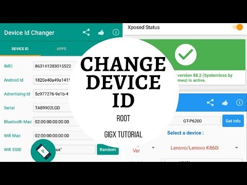 Change Device Id [Android] - YouTube