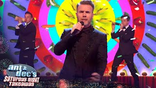 Gary Barlow & The London Vegetable Orchestra's End of the Show Show! | Saturday Night Takeaway