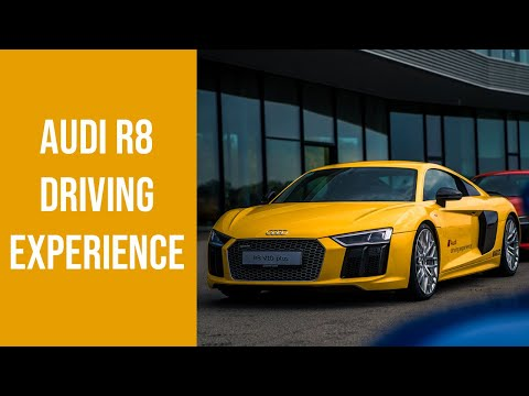 Here's Where You Can Drive An Audi R8 V10+ In Germany | Audi Driving Experience