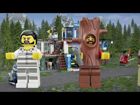 LEGO® City Police 60174   Полицейско управление в планината