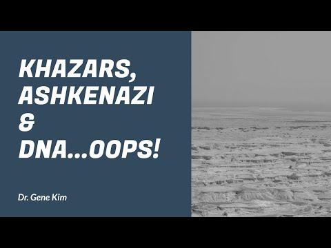 Khazars, Ashkenazi & DNA...OOPS! - Dr. Kim