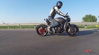 Мотоцикл Retro Fighter - незапланированный тест-драйв. Тюнинг Honda Hornet  CB600F 2008