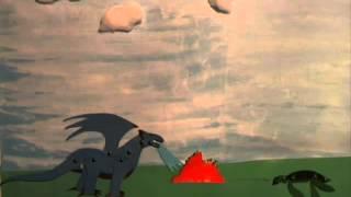 Die dreibeinige Schildkröte und der blaue Drache