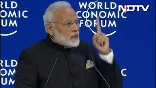 """"""" Red Tape Out Red Carpet In """" PM Modi Tells Global CEOs"""