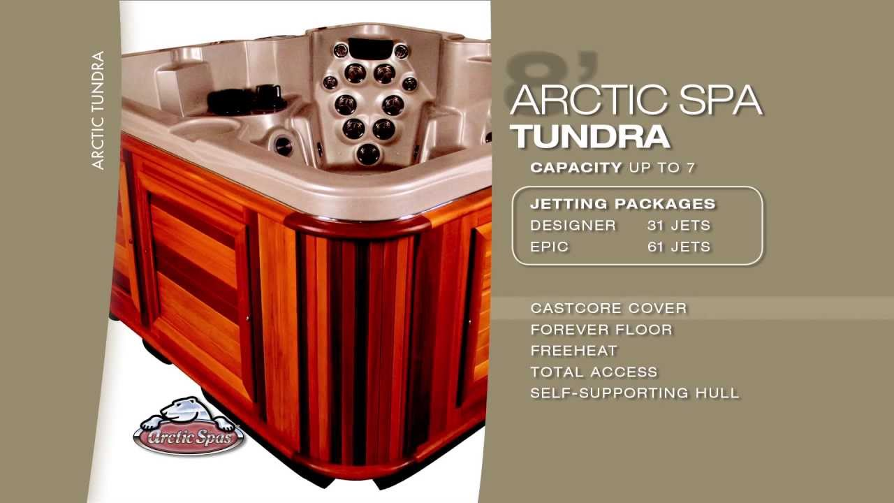 The 8 Foot Arctic Tundra Hot Tub Arctic Spas