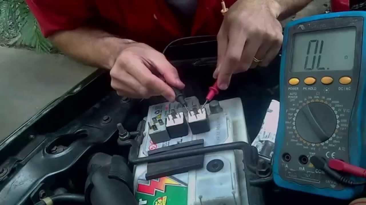 Teste De Rele Amp Limpeza Caixa De Fus 237 Vel Jeep Cherokee