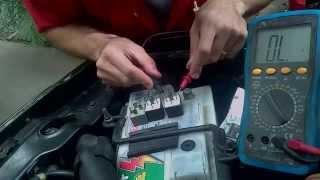Teste de rele & limpeza caixa de fusível - Jeep Cherokee XJ ( relay test )