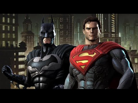 Injustice: Gods Among Us All Cutscenes HD GAME - Justice League