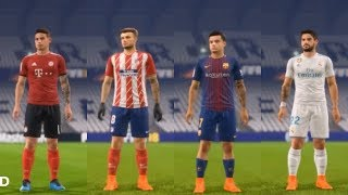 FIFA 19 | New Faces & Tattoos | ( Sergio Ramos, Suarez, Isco )